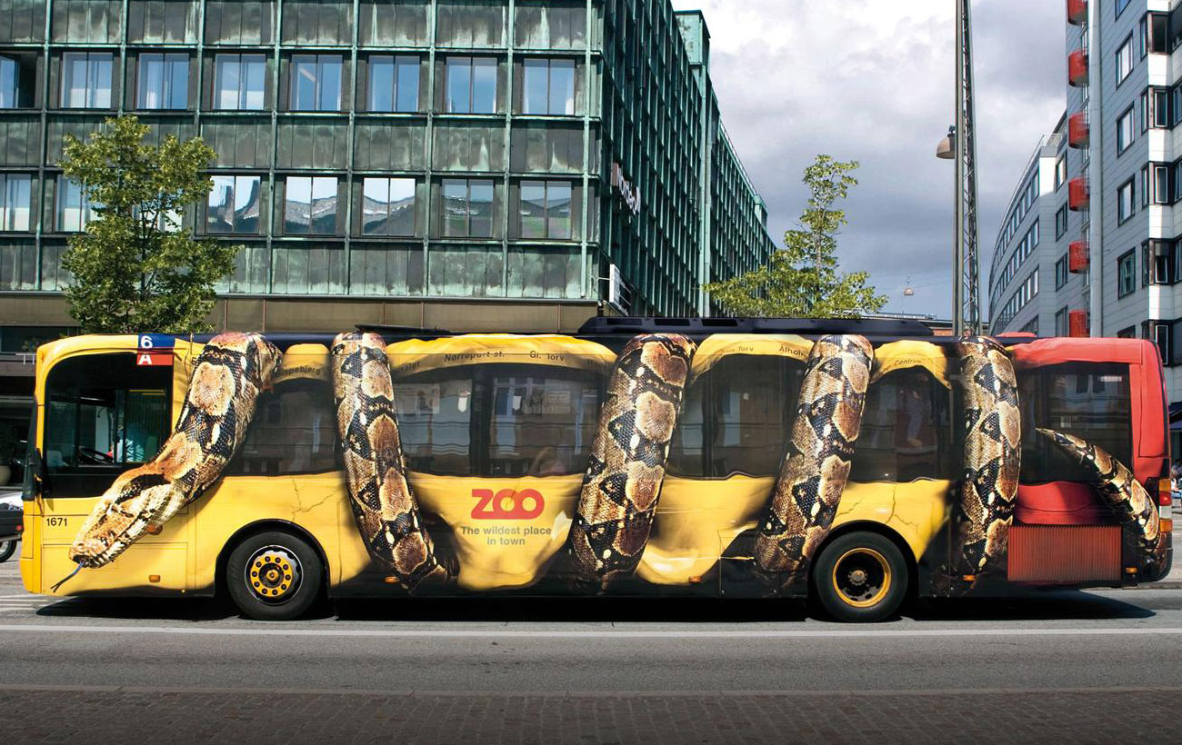 Zoo Bus Guerrilla Marketing | The Gorilla Agency